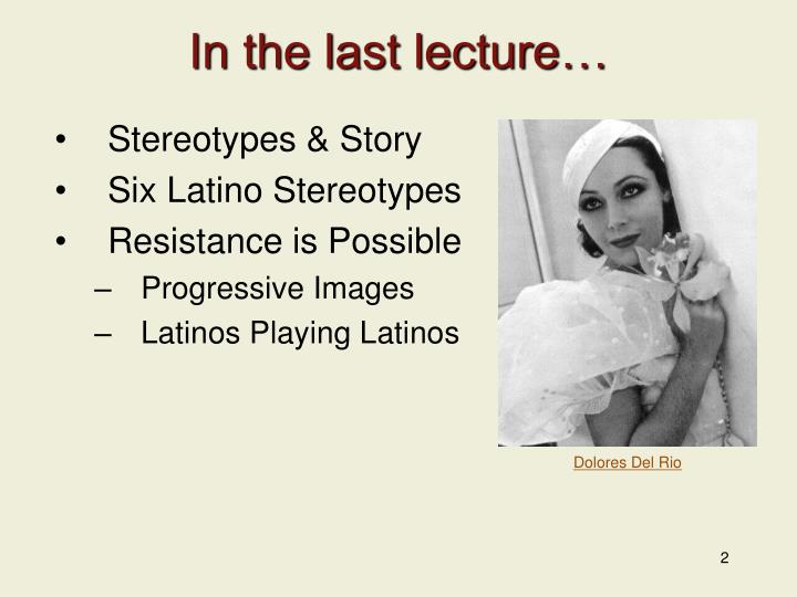 latino stereotypes Latin american stereotypes have the greatest impact on public perceptions and that latin americans were the most negatively rated on several characteristics.