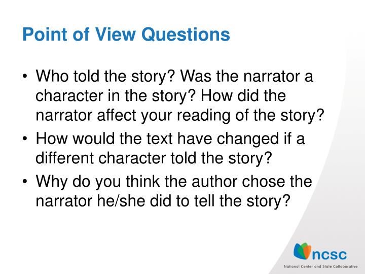 Point of View Questions