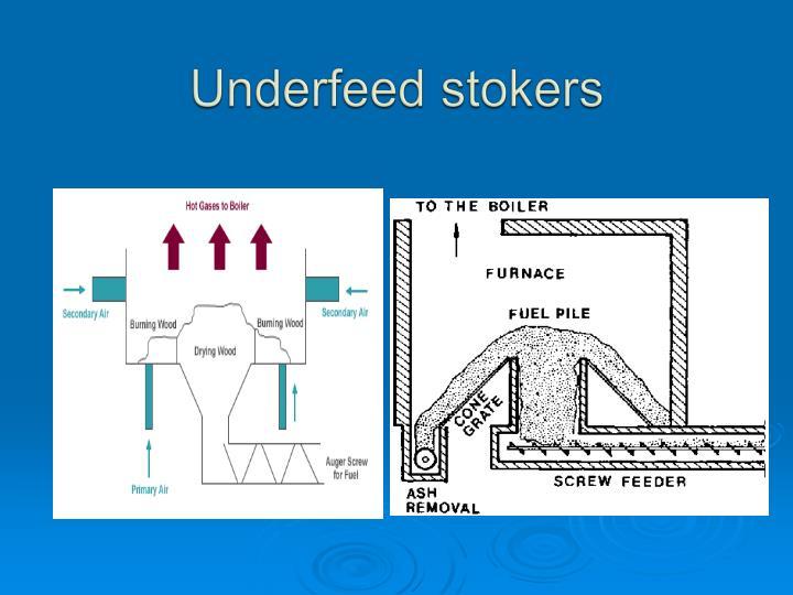 Underfeed stokers