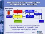 proceso de atenci n hospitalaria en emergencias y desastres