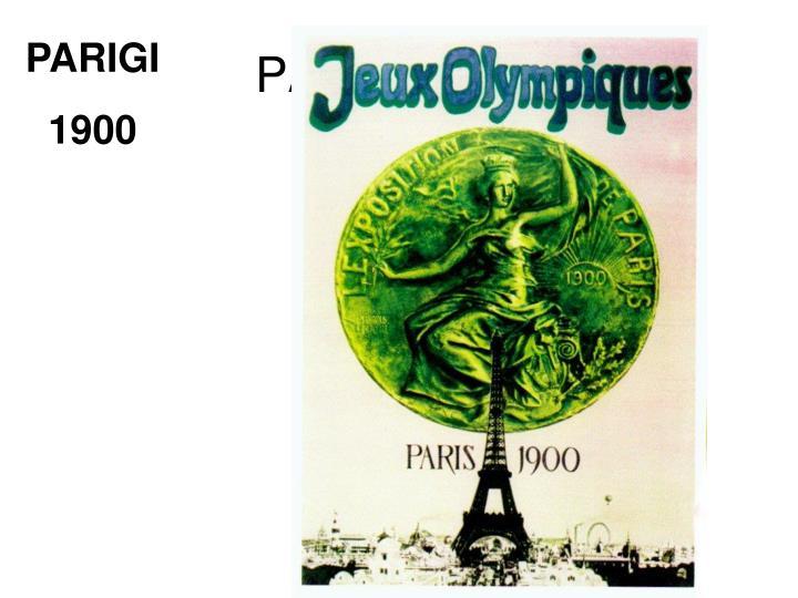 PARIGI 1900