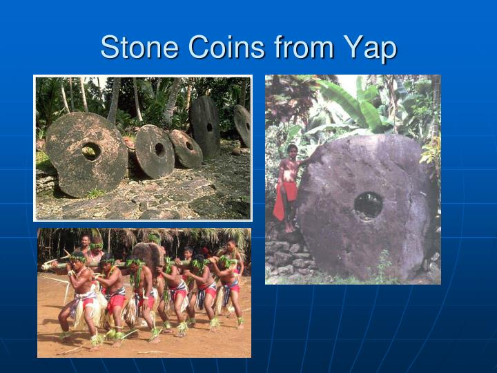 Stone Coins from Yap