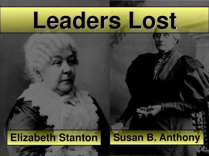 Leaders Lost