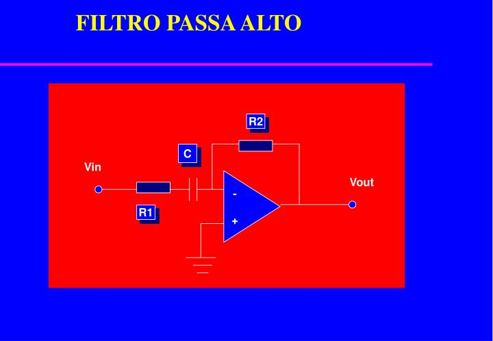 FILTRO PASSA ALTO