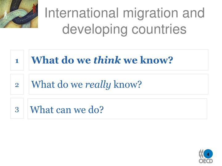 migration from developing countries to developed Express your opinion about mass migration discuss whether mass migration from developing to developed countries is a positive or negative action.