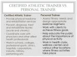 certified athletic trainer vs personal trainer1