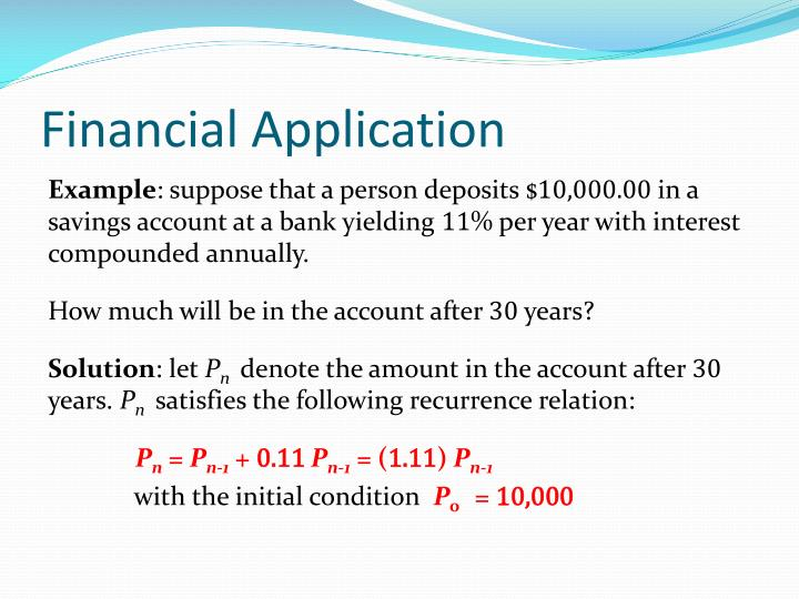 Financial Application