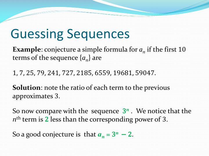 Guessing Sequences