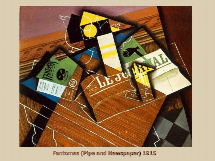 Fantomas (Pipe and Newspaper) 1915