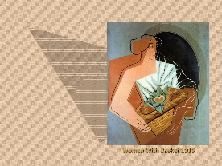 Woman With Basket 1919