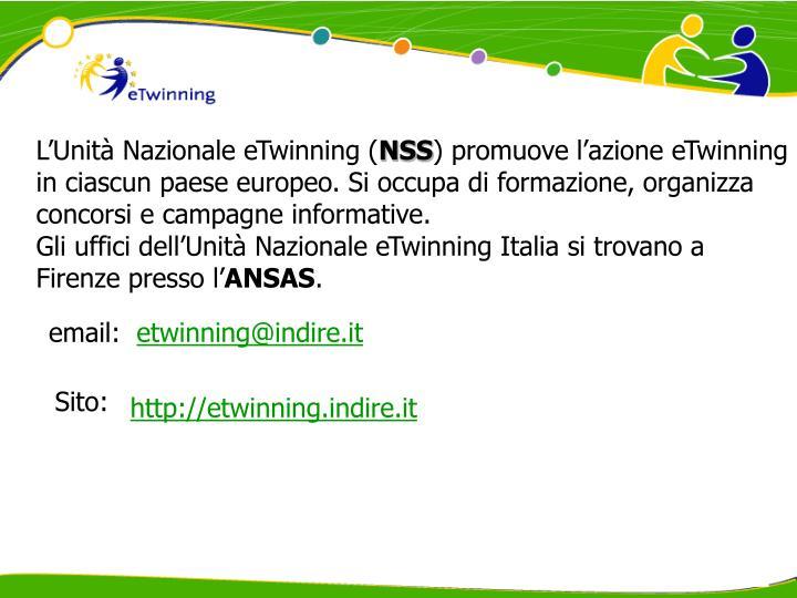 L'Unità Nazionale eTwinning (