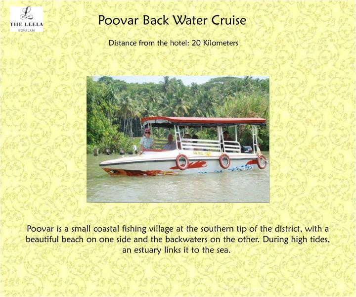 Poovar Back Water Cruise