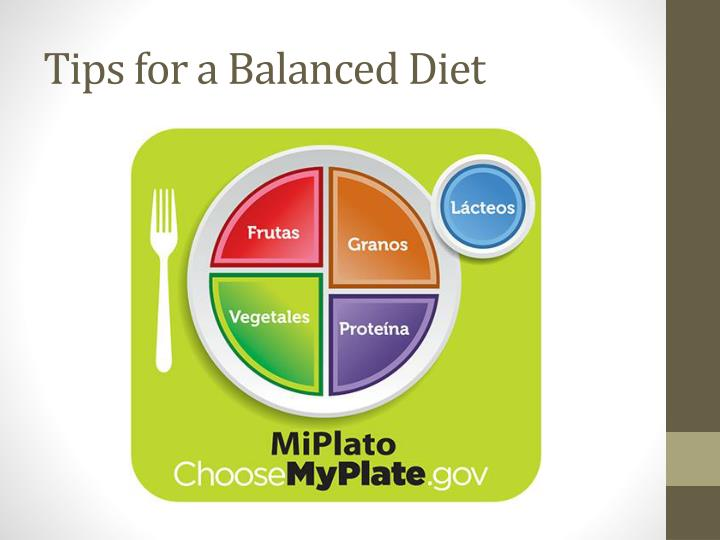 Tips for a Balanced Diet