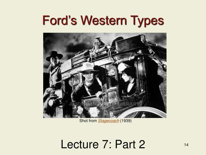 Ford's Western Types