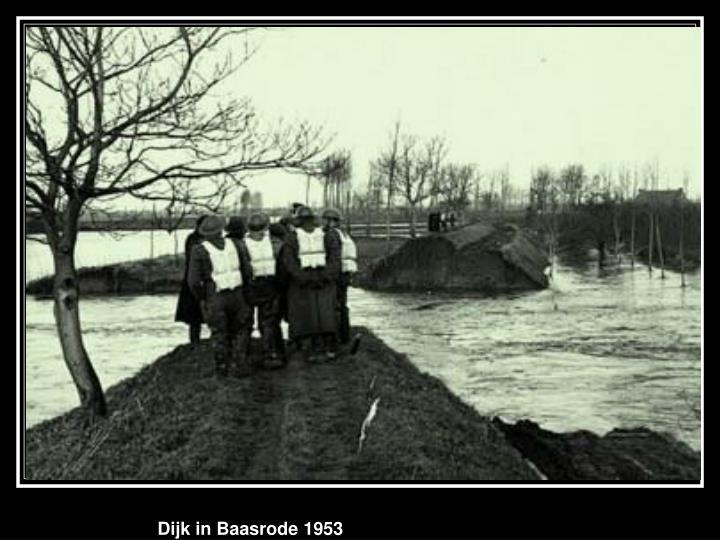 Dijk in Baasrode 1953