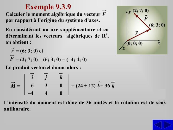 Exemple 9.3.9