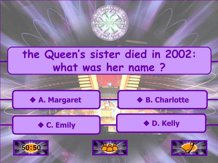 the Queen's sister died in 2002: what was her name ?