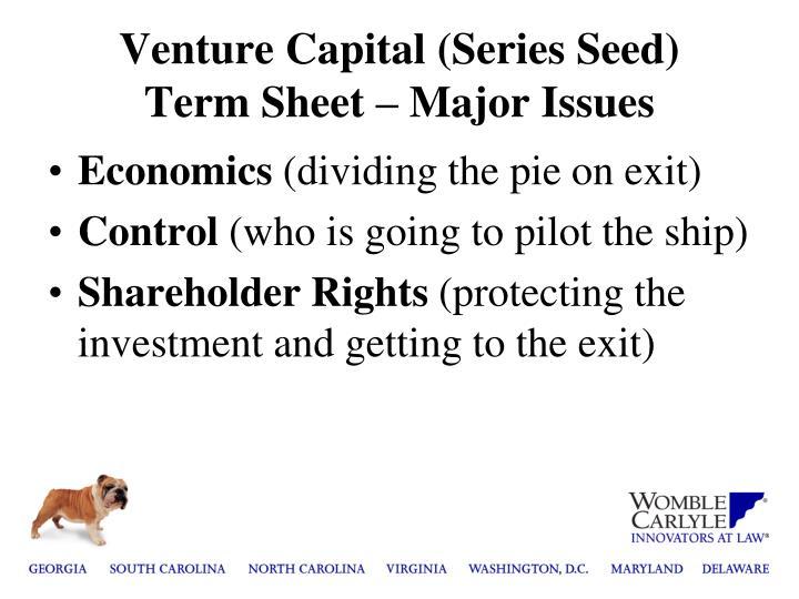 Venture Capital (Series Seed)