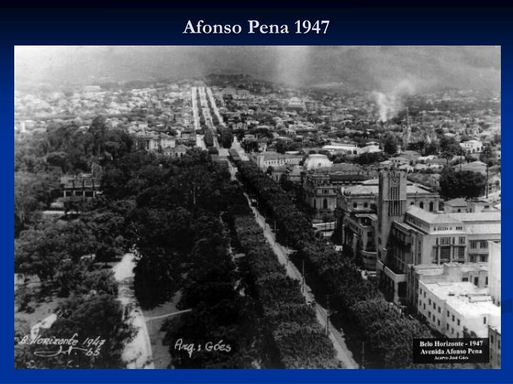 Afonso Pena 1947