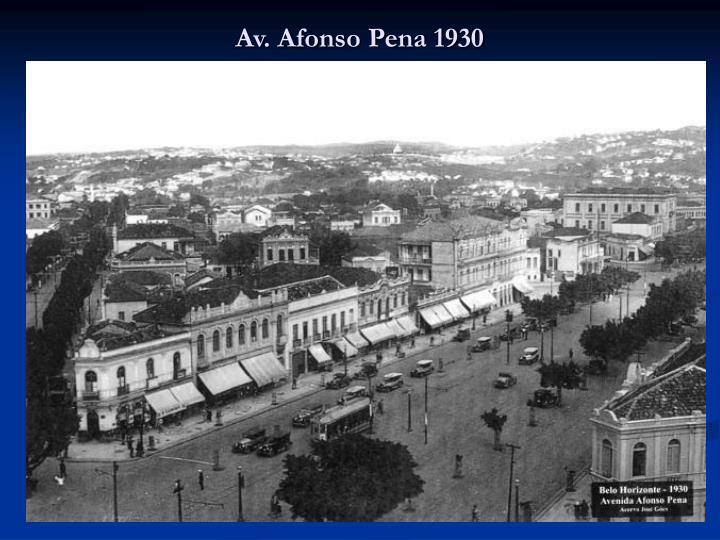 Av. Afonso Pena 1930