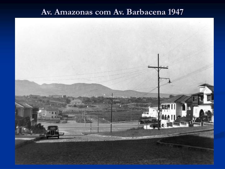 Av amazonas com av barbacena 1947