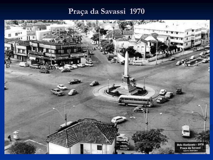 Praça da Savassi  1970