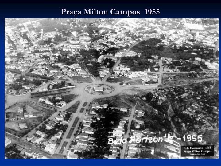 Praça Milton Campos  1955