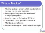 what is tracker