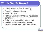 who is start software