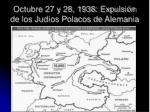 octubre 27 y 28 1938 expulsi n de los jud os polacos de alemania