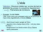 l idole