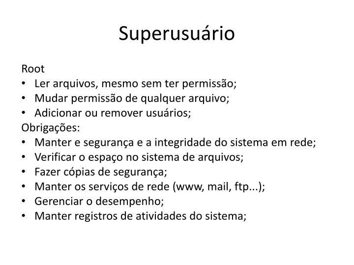 Superusu rio