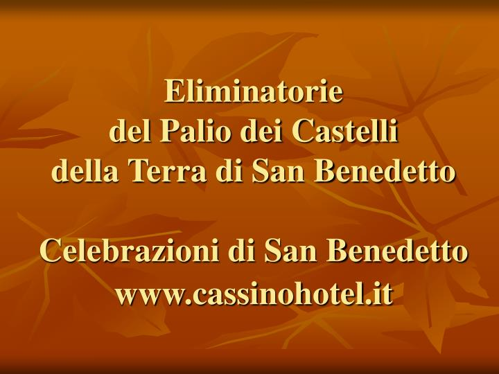 Www cassinohotel it