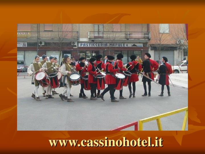 Www cassinohotel it1