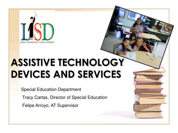 assistive technology devices and services n.