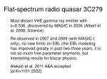 flat spectrum radio quasar 3c279