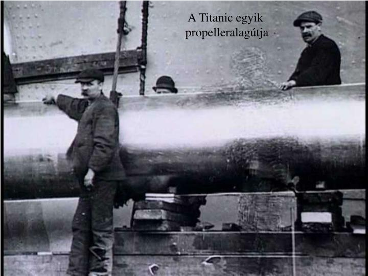 A Titanic egyik