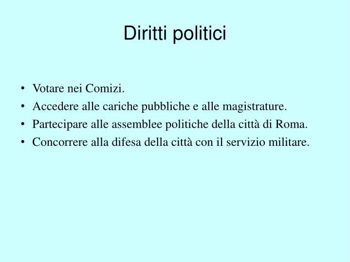 Diritti politici