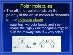 polar molecules2