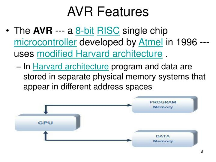 AVR Features