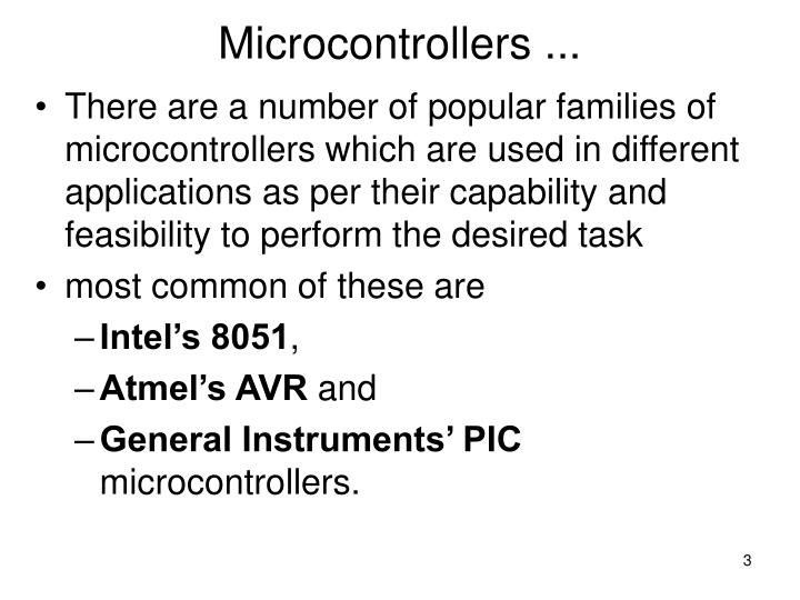 Microcontrollers2