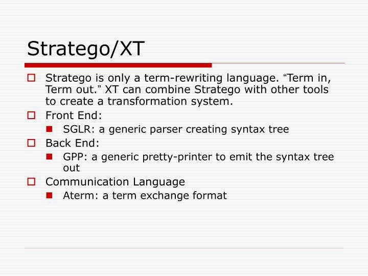 Stratego xt