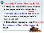 it is adj of sb not to do sth