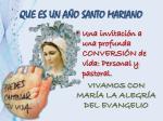 que es un a o santo mariano1