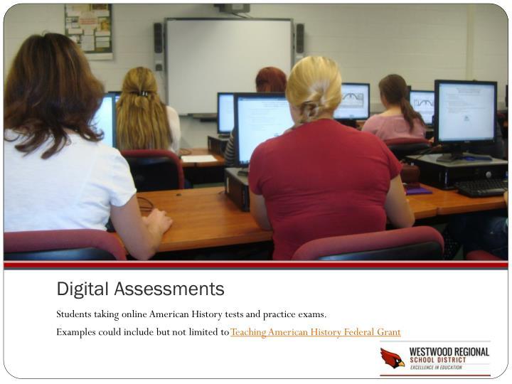 Digital Assessments