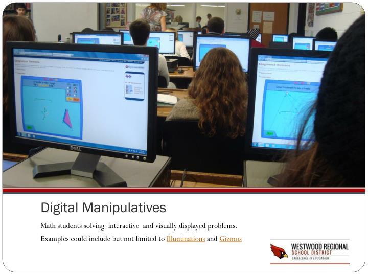 Digital Manipulatives
