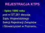 rejestracja ktps