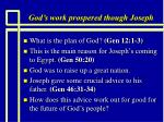 god s work prospered though joseph4