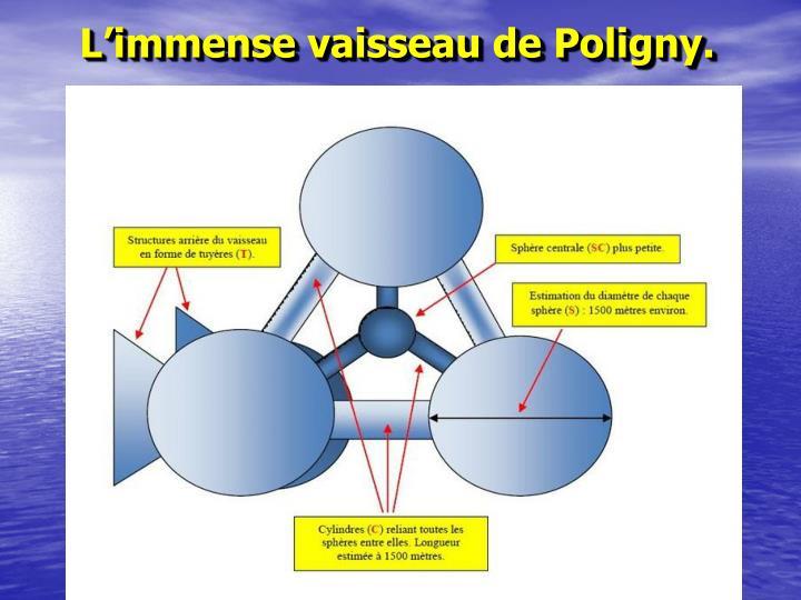 L'immense vaisseau de Poligny.