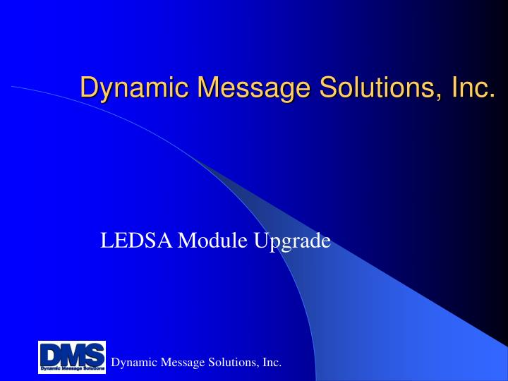 dynamic message solutions inc